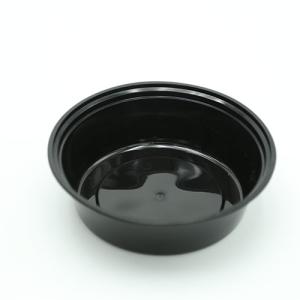 Μπολ Τροφίμων Στρογγυλό Μαύρο 700ml Ιδανικό Για Delivery 150 σετ/Κιβώτιο